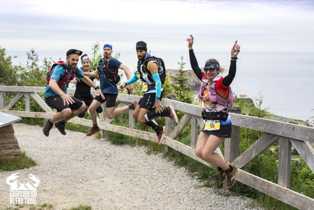 La 6ème étape à la Gaspésia 100